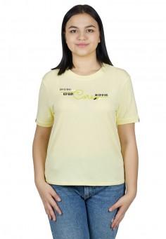 3189 Футболка желтый 46-52
