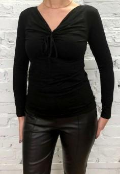 3977 Блузка женская черный