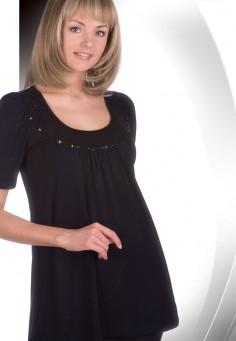 31084 Блузка женская черный
