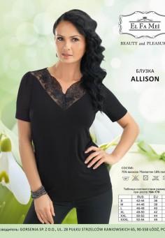 1219 Allison блузка El Fa Mei белый
