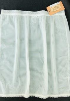 0397 Юбка нижняя EL Fa Mei молочный